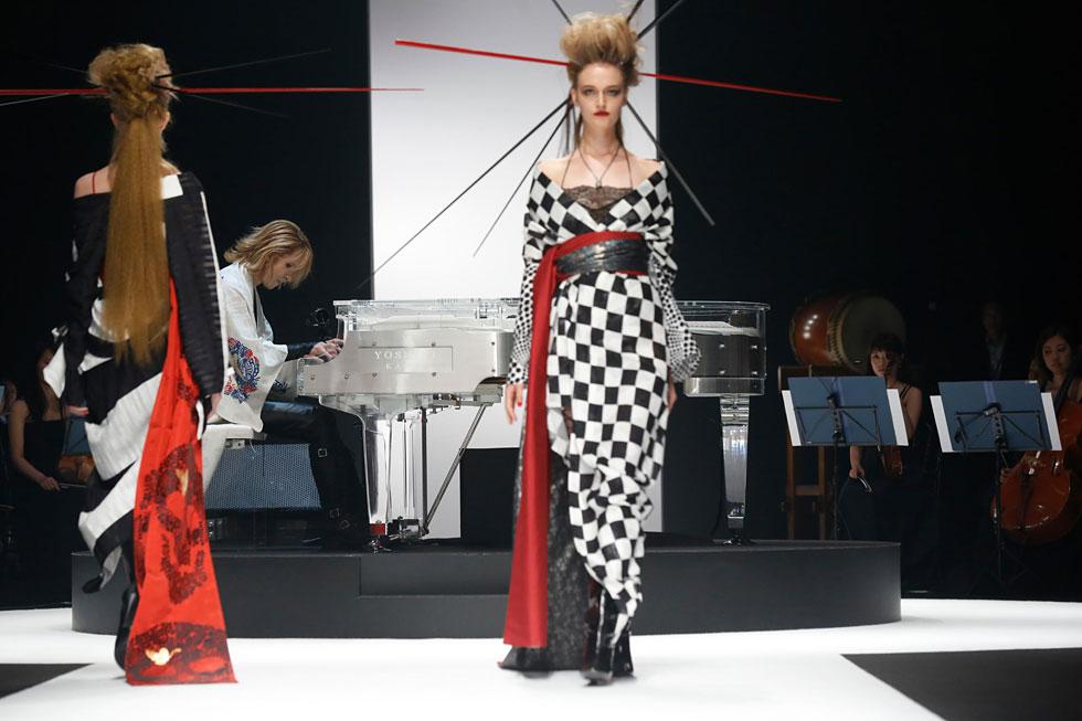 Yoshikimono Amazon Tokyo Fashion Week SS17