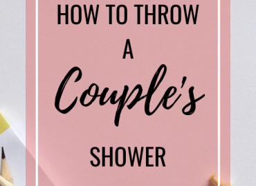 How to throw a couples shower
