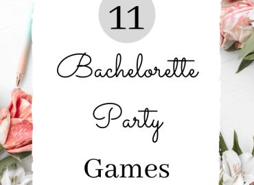 Bachelorette party games