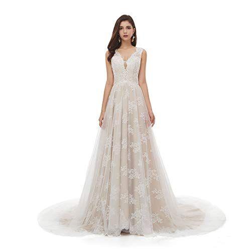 Lace boho wedding dresses