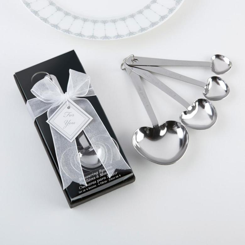 Love without measure spoons favors