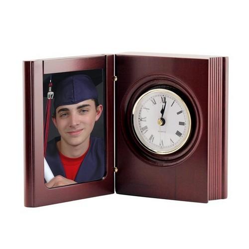 Graduation Wooden Book Clock