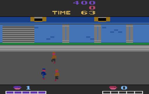 Double Dragon - Atari 2600