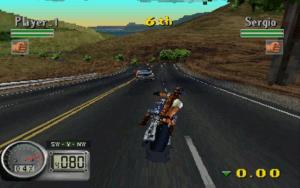 Road Rash 3d, Playstation