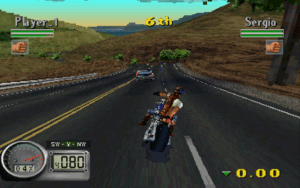 Road Rash 3d, Playstation