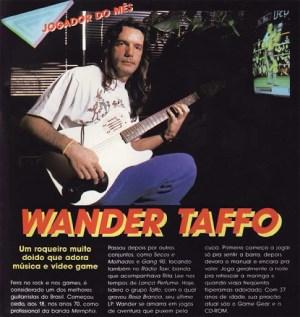 Wander Taffo falando de games na Supergame