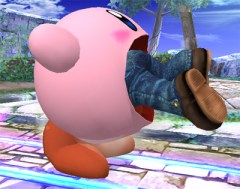 Kirby engolindo