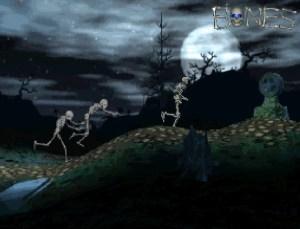 Cena da primeira fase de Mr. Bones