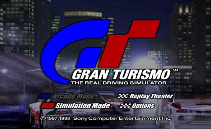 Gran Turismo tela título