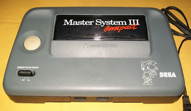 Master System III Compact (Brasil)