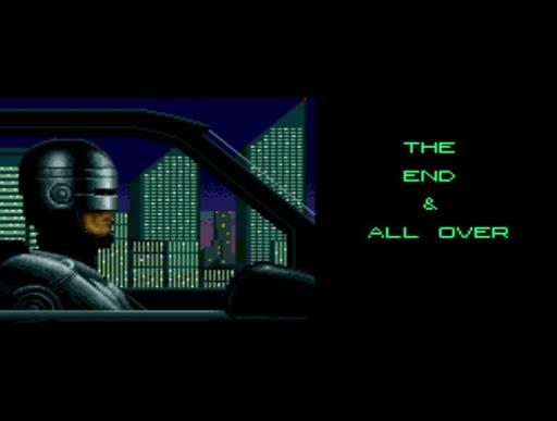 Spoilando: o final do game Robocop