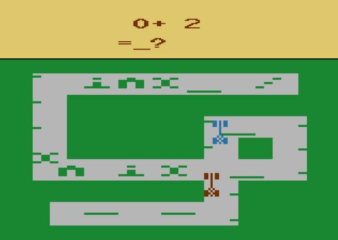 math grand prix Atari 2600