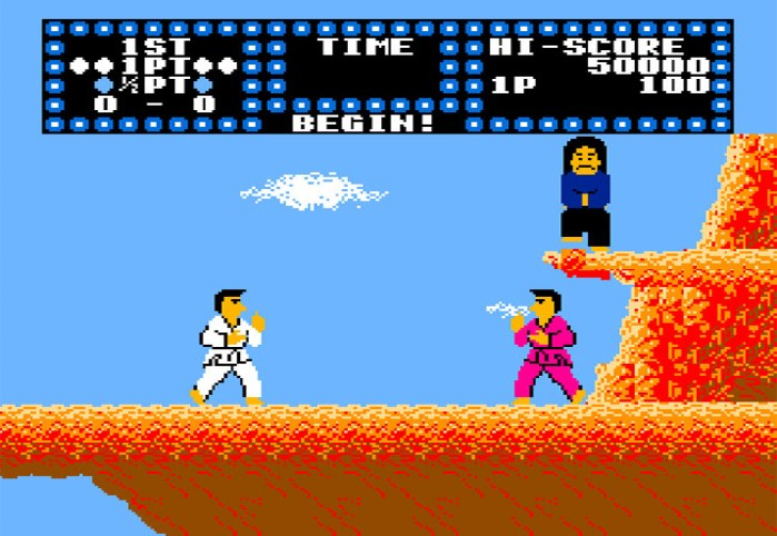 karate champ nes