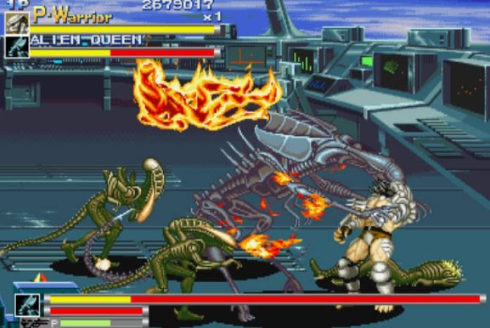 ultimo chefe - alien vs predator