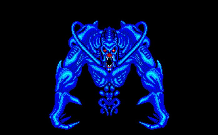 Dark Falz de Phantasy Star