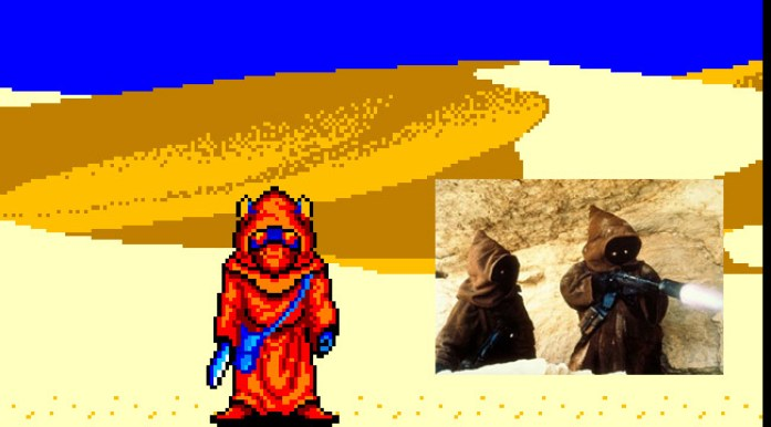 Farmers de Phantasy Star e Jawas de Star Wars