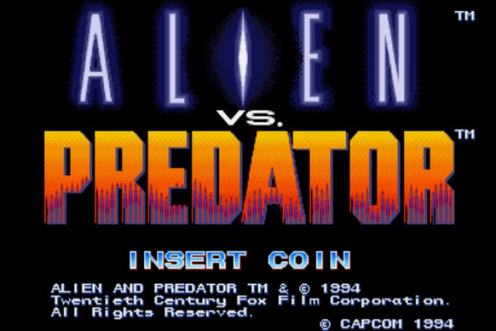 tela título Alien vs Predator