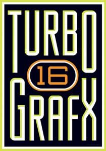 Turbografx-16 logo