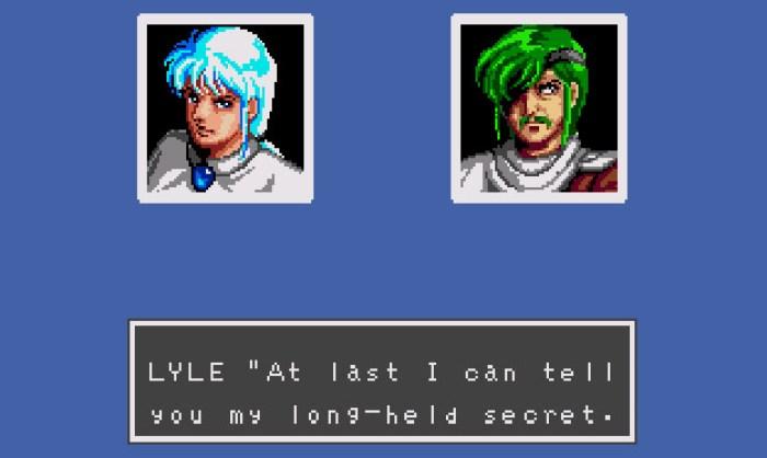 Lyle confessa a verdade