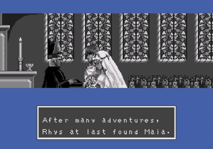 Phantasy Star III - casamento Rhys e Maia