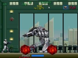 ED-209 é o penúltimo desafio de Robocop no game