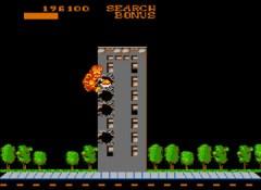 Fase de bônus em Rampage (NES)