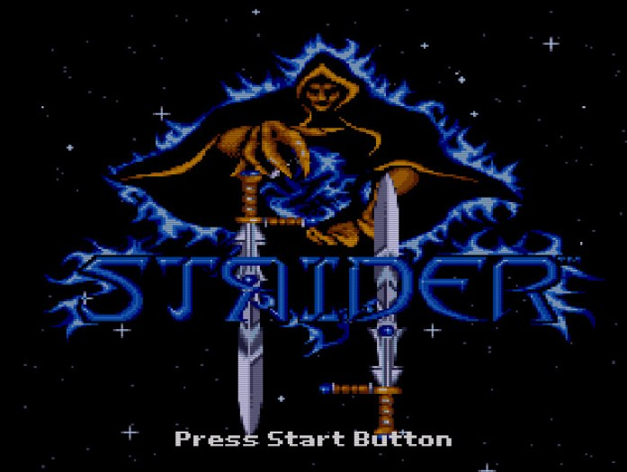 Strider II Mega Drive quote