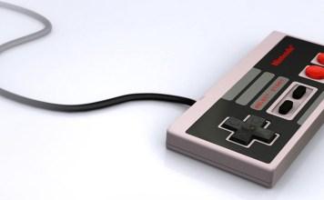 Controle NES wallpaper banner