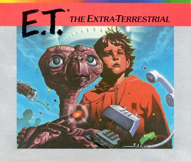 ET Atari 2600 art