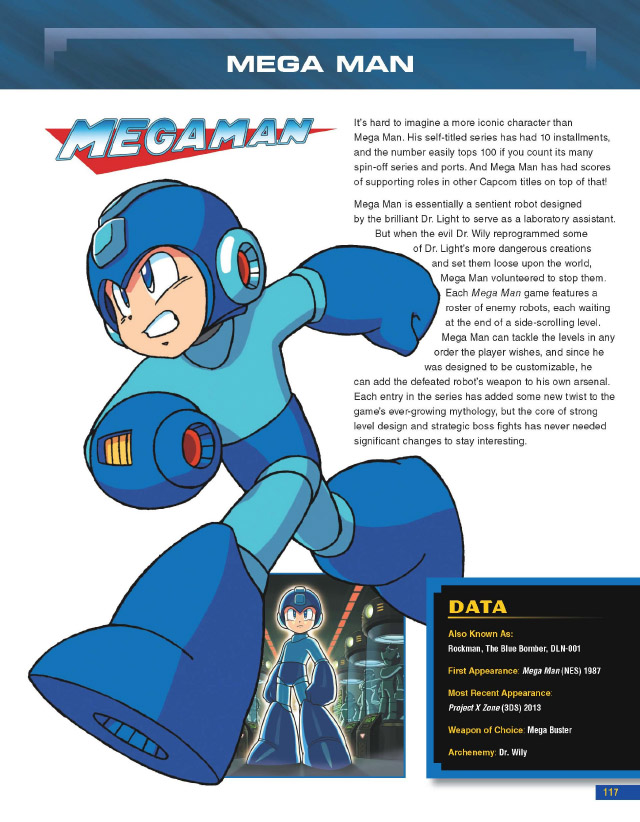 Capcom Encyclopedia Mega Man