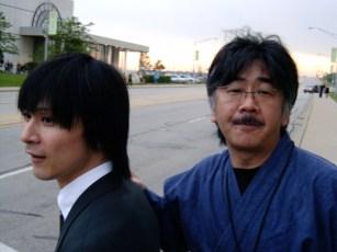 Yasunori Mitsuda e Nobuo Uematsu