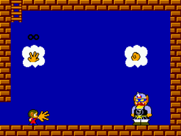 Alex Kidd in Miracle World - jankenpo contra Janken
