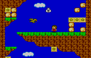 Alex Kidd in Miracle World - primeira fase