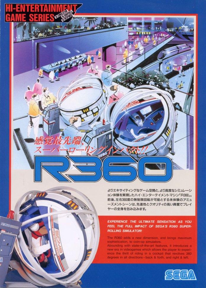Flyer R360 japão