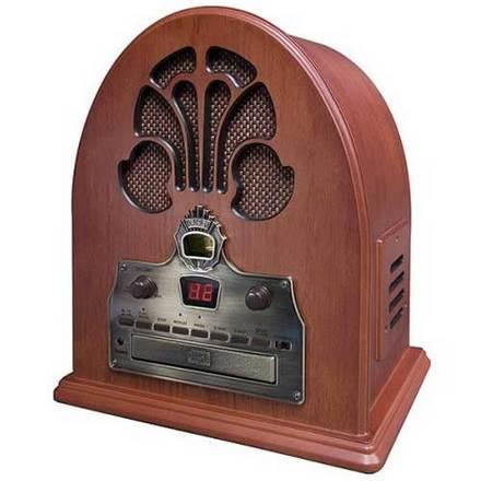 Rádio modelo catedral