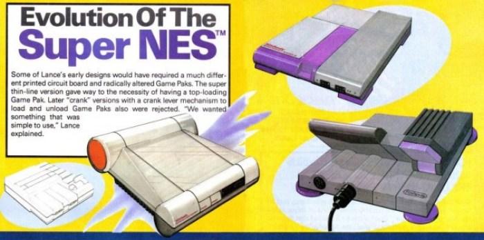 Design do Super NES