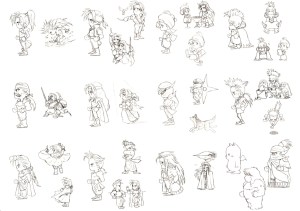 Final Fantasy VI conceitos