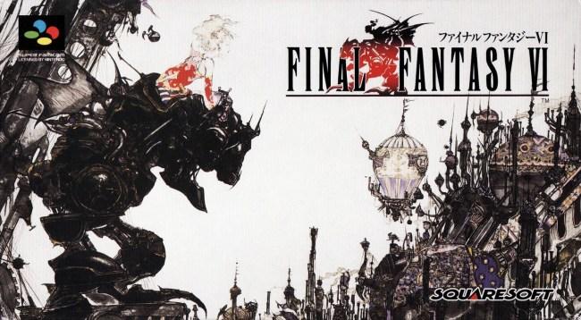 Final Fantasy VI super famicom art
