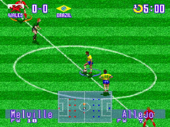 International Superstar Soccer Deluxe (1995)