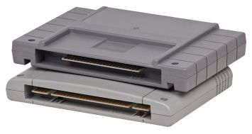 SNES e Super Famicom cartuchos