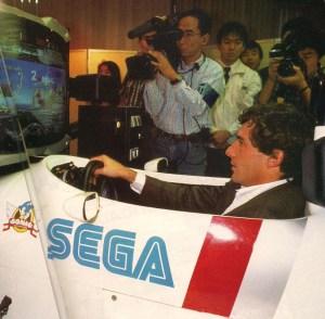 Senna na Sega 1991