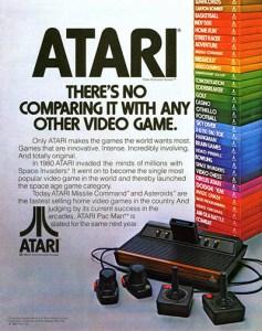 Atari ad theres no comparing