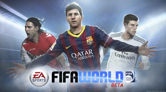 Fifa World beta tela título
