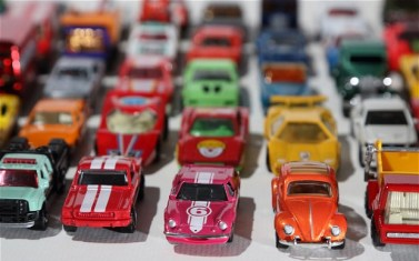 Matchbox cars by JOHN LAWRENCE