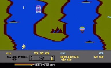 River Raid Atari 800