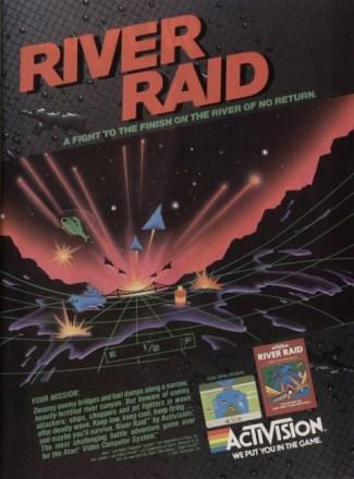 River Raid ad