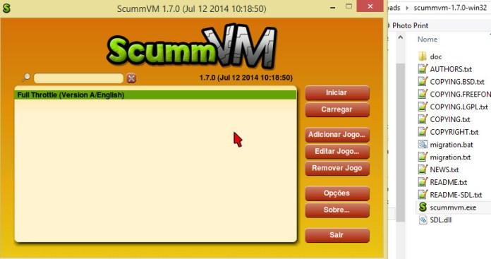 ScummVM emulador