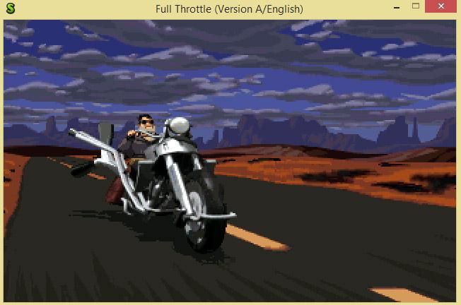 Full Throttle no ScummVM