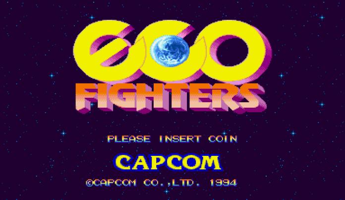 Eco Fighters tela título