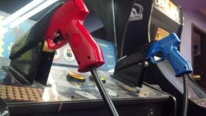 Konami Justifier arcade gun
